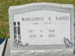Marguerite R. <i>Savant</i> Barnes
