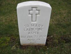 Sr Mary Catherine Aspel