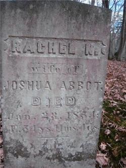 Rachel N <i>Bickford</i> Abbott