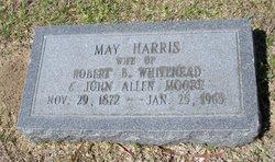 May Harris <i>Whitehead</i> Moore