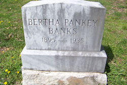 Bertha <i>Pankey</i> Banks