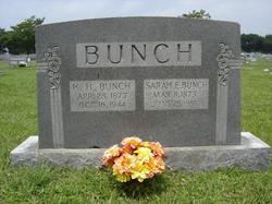 Sarah Elizabeth <i>Byrum</i> Bunch