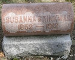Susanna <i>Meck</i> Brinkman