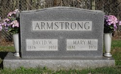 Mary Margaret <i>Butcher</i> Armstrong