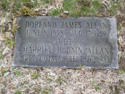 Harriet <i>Mcbain</i> Allan