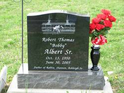 Robert Thomas Bobby Albert, Sr