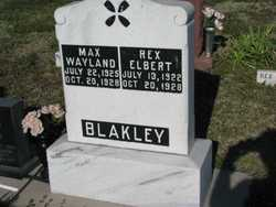 Max Wayland Blakley