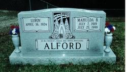 Mahulda Belle <i>Vance</i> Alford