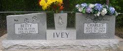 Betty <i>Riche</i> Ivey