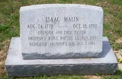 Rev Isaac Malin, IV