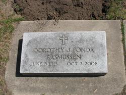 Dorothy Jeannette <i>Fonda</i> Rasmussen