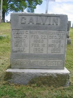 Mary Francis <i>Holderfield</i> Calvin