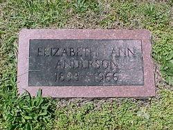 Ann Elizabeth Anderson