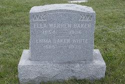 Ella <i>Warren</i> Baker
