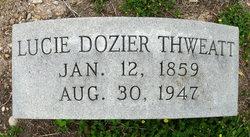 Lucie <i>Dozier</i> Thweatt