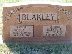 Rolla Thomas Blakley