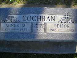 Agnes Myrtle <i>Mangan</i> Cochran