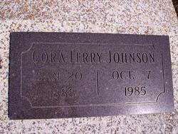 Cora <i>Terry</i> Johnson