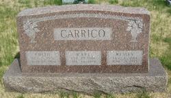 Mary Edith <i>Booker</i> Carrico
