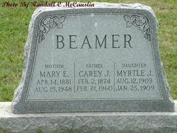 Mary Ellen <i>Cashman</i> Beamer
