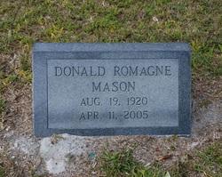 Donald Romagne Mason