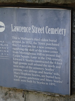 Lawrence Street Cemetery
