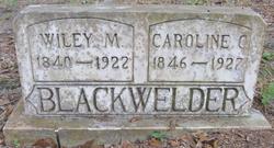 Caroline Cornelia <i>Gruver</i> Blackwelder