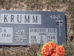 Dorothy <i>Ewing</i> Krumm