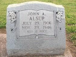 John Anderson Alsup