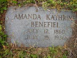 Amanda Kathrine Mandy <i>Sheppard</i> Benefiel