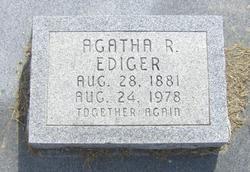 Agatha <i>Regier</i> Ediger