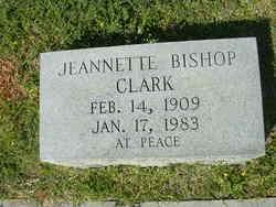Emily Jeannette Jeannette <i>Bishop</i> Clark