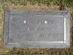 Roy Mahan Brown