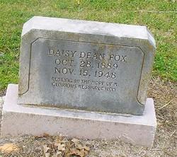 Daisy Mae <i>Dean</i> Fox