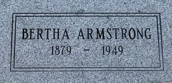 Bertha <i>Mathews</i> Armstrong