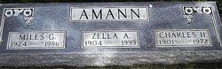 Zella A. <i>Witters</i> Amann