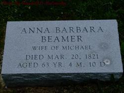 Anna Barbara <i>Oyler</i> Beamer