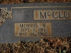 MORRIS WILLIAM BIG DADDY McCLUNG