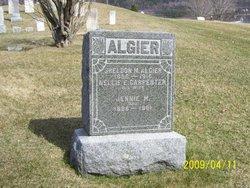 Nellie E. <i>Carpenter</i> Algier