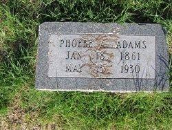 Phoebe A. <i>Ginger</i> Adams