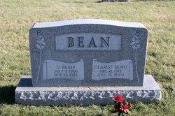 Clarise <i>Bobo</i> Bean