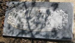 Ruby Grace <i>Blackburn</i> Ping