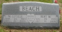 Lucille M <i>Robbins</i> Beach