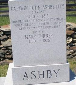 Mary Elizabeth <i>Turner</i> Ashby