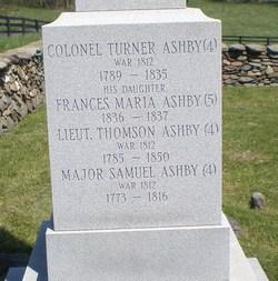 Maj Samuel Ashby