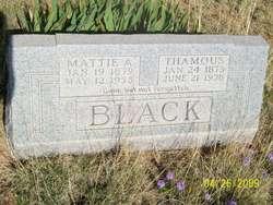Mattie Alen <i>Vaught</i> Black