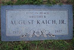 August Gus Kaich, Jr