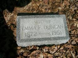 Emma Frances <i>Roberts</i> Edwards/ Duncan