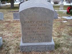 Mary Ann <i>Phelps</i> Allen