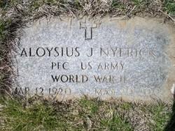 Aloysius J Nyerick